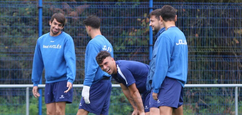 Real Avilés | «Con bajas o sin ellas hay que sacar el partido adelante y veo bien al equipo»