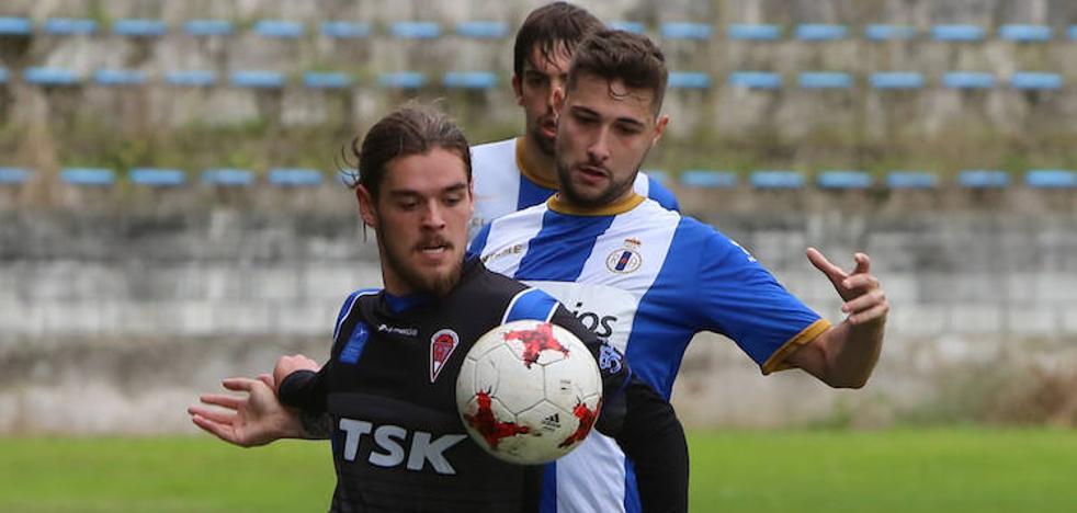 El Avilés supera al Roces con dos goles de Luis Nuño