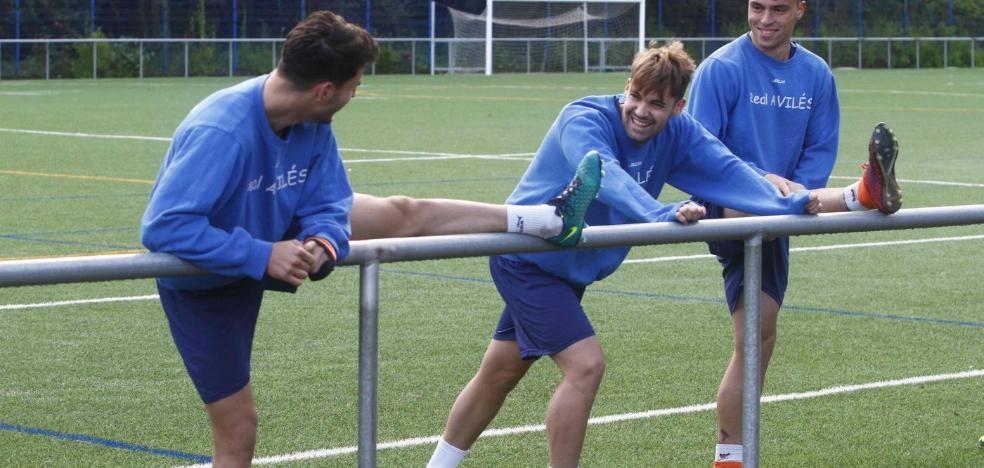 Real Avilés | «Estuve dos meses lesionado y ahora sólo pienso en poder jugar al fútbol»