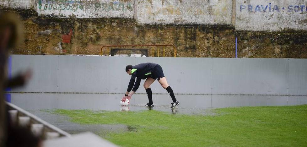 La lluvia obliga a suspender el Praviano-Avilés