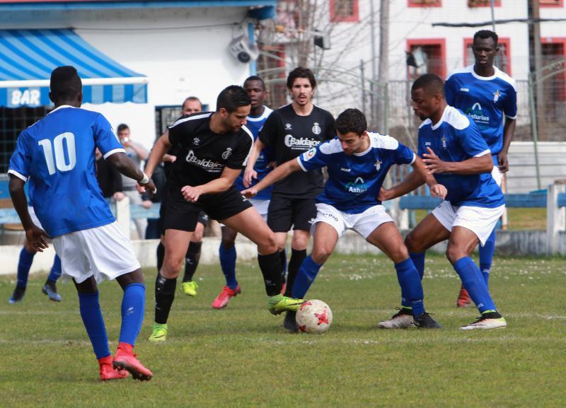 San Martín 1 - 0 Real Avilés, en imágenes
