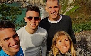 Un mes de familia para Gastón Cesani