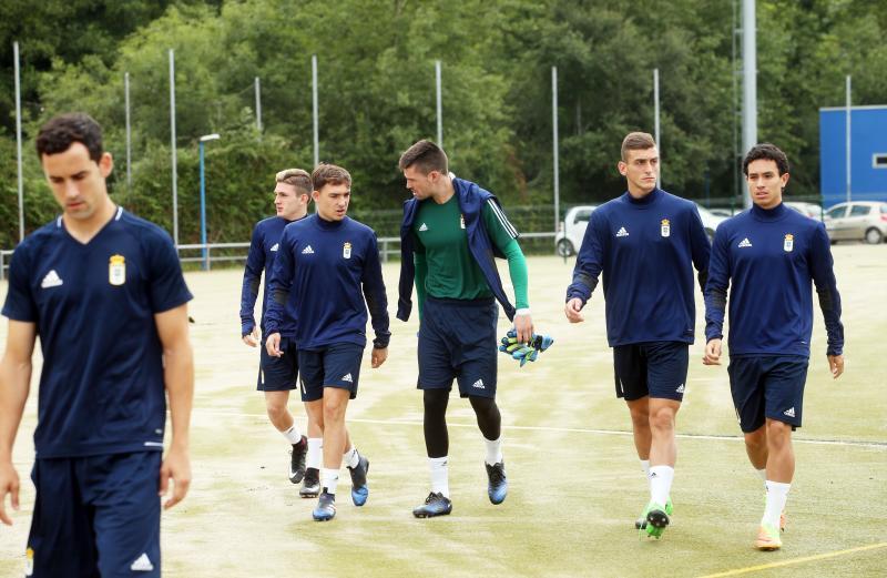 El Real Oviedo vuelve a los entrenamientos