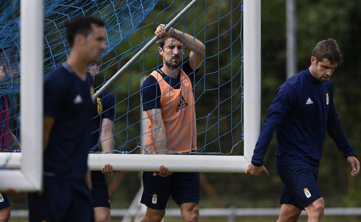 Entrenamiento del Real Oviedo (14-07-2017)