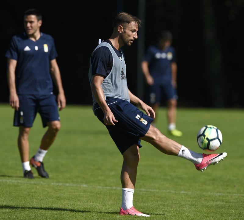Entrenamiento del Real Oviedo (10/08)