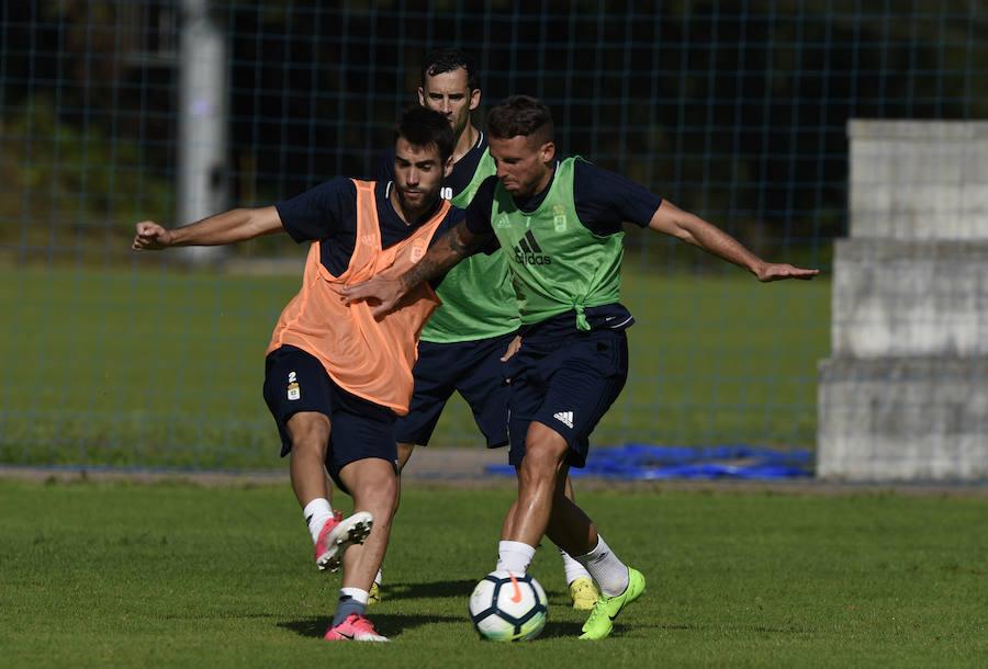 Entrenamiento del Real Oviedo (16-08-2017)