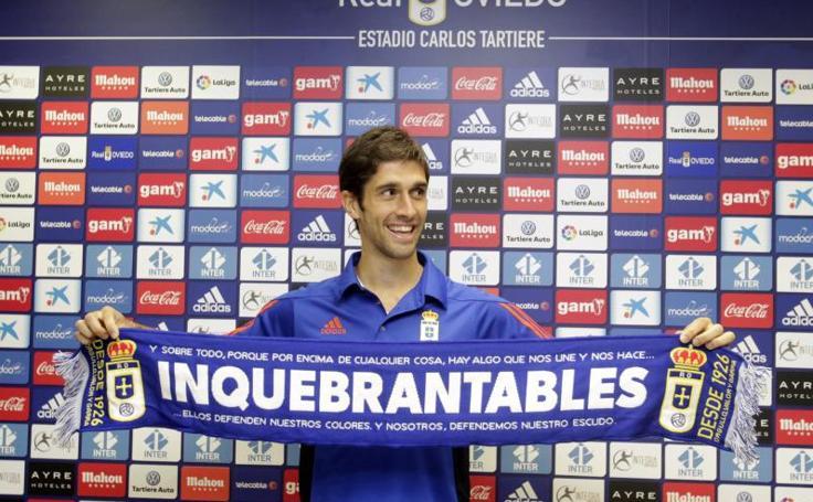 Juan Forlín ya entrena con el Real Oviedo