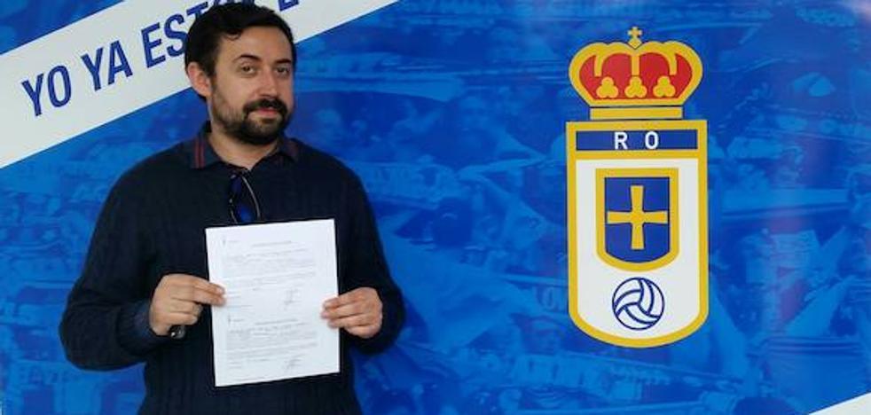 Dimite el presidente de la Asociación de Peñas Azules del Real Oviedo