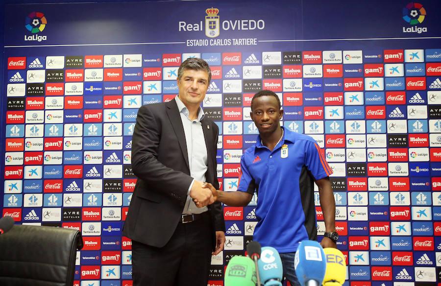 Yeboah, nuevo jugador del Real Oviedo