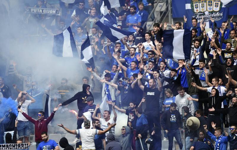 Entrenamiento multitudinario del Real Oviedo