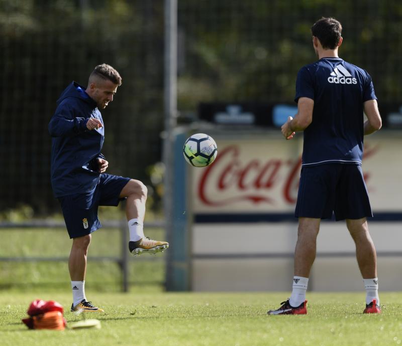 Entrenamiento del Real Oviedo (15/09)