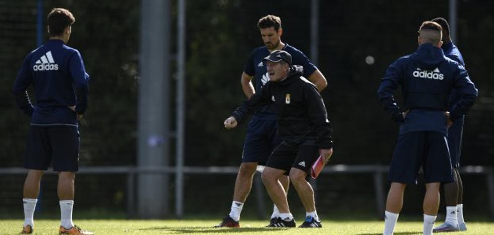 Real Oviedo | «Queremos competir, ser un equipo serio y que, sobre todo, juegue bien al fútbol»