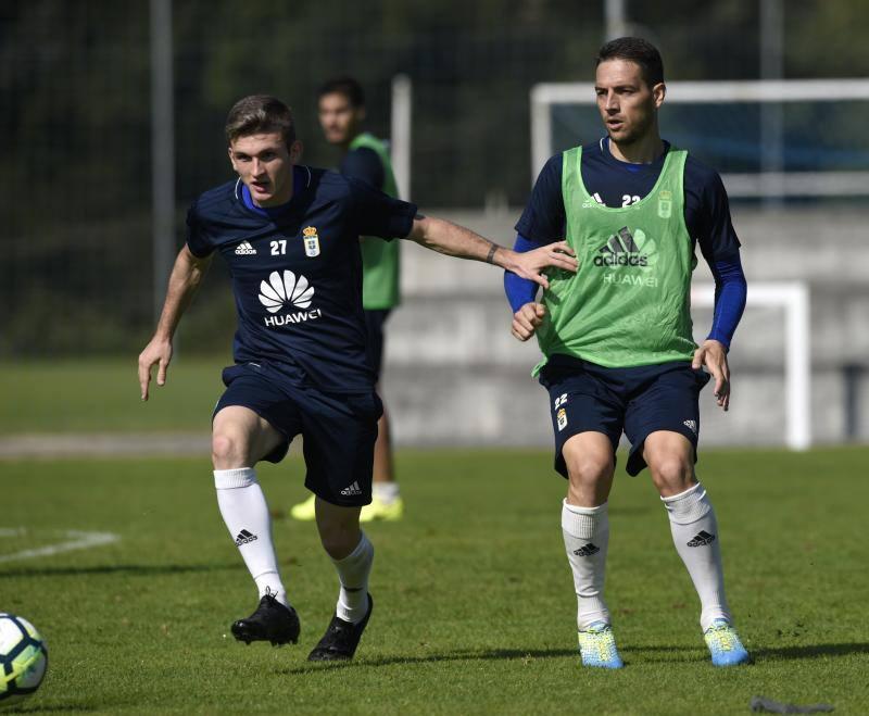 Entrenamiento del Real Oviedo del 20 de septiembre de 2017