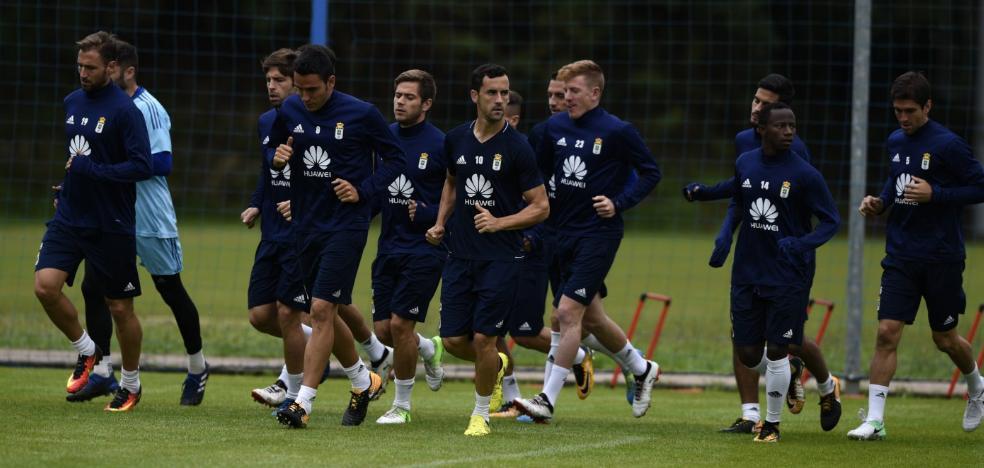 Real Oviedo | «Hay que creer en el trabajo que hacemos, pero tenemos que mejorar muchas cosas»