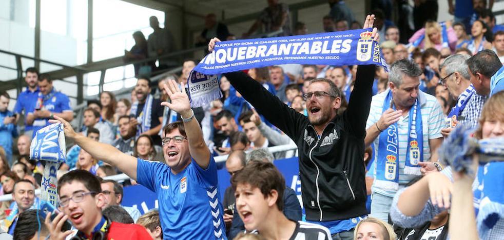 El Real Oviedo repite fórmula para contar con el apoyo de la afición esta noche
