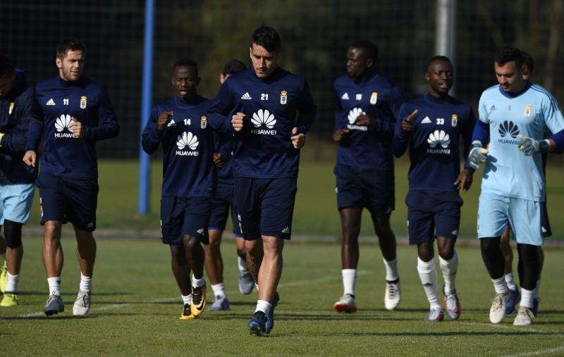 Entrenamiento del Real Oviedo (12/10)