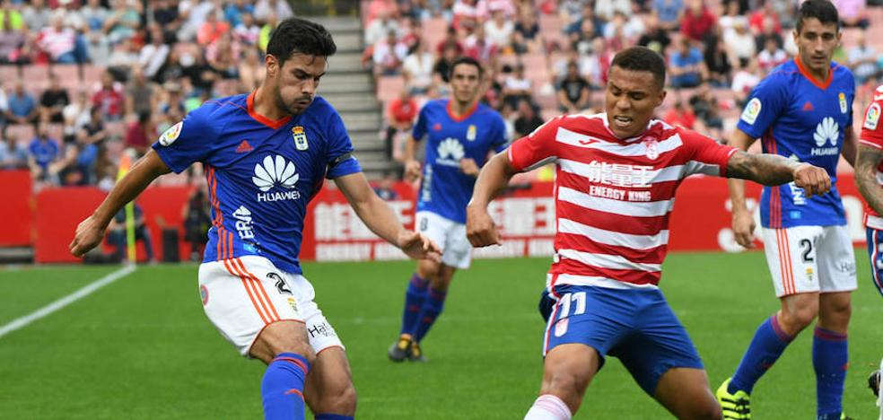 El Oviedo se desploma en Granada