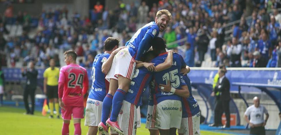 El Real Oviedo vuelve a ganar