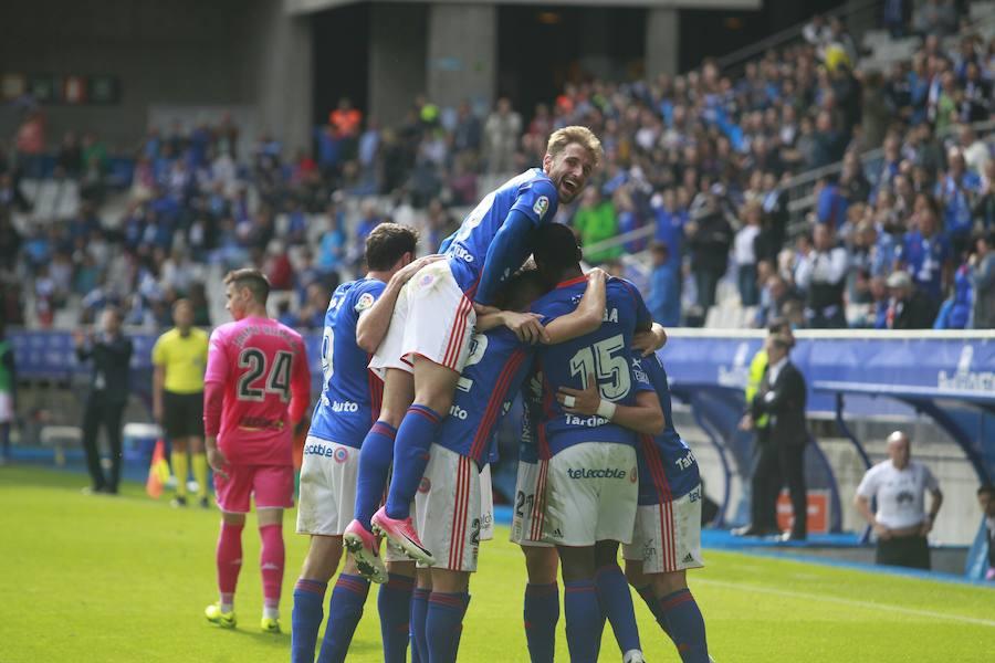 Real Oviedo 2 - 0 Córdoba, en imágenes