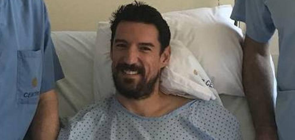 Real Oviedo | Toché, operado de su lesión de menisco por el doctor Guillén