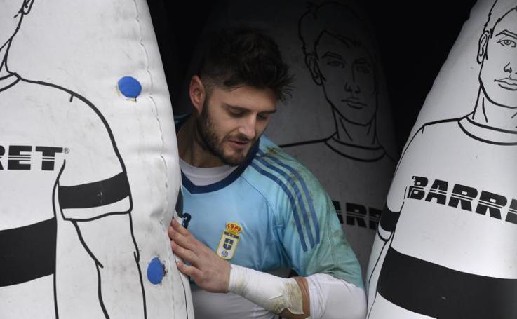 Entrenamiento del Real Oviedo (09/11/17)