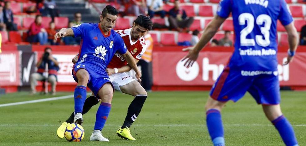 El Oviedo se levanta a tiempo (Nàstic 1-2 Real Oviedo)
