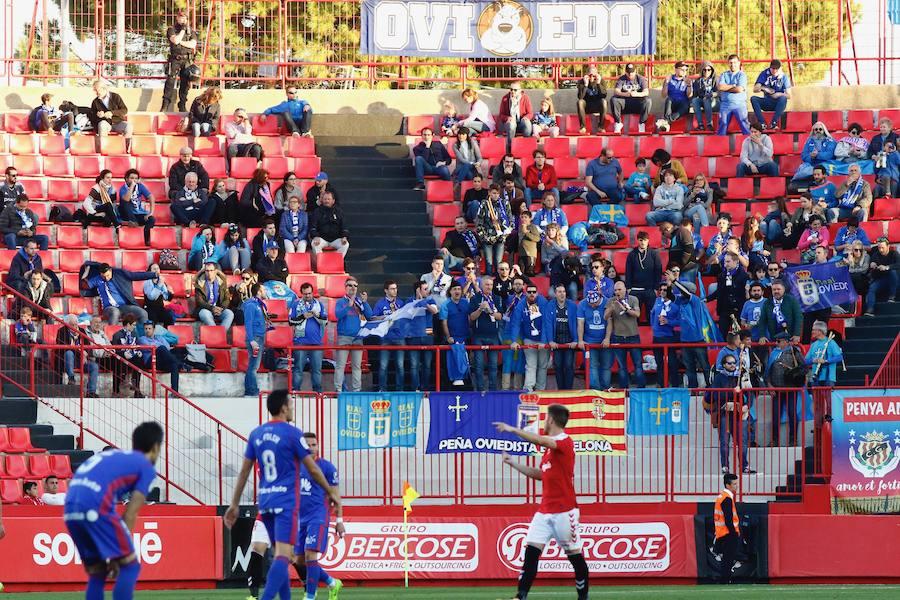 Las mejores imágenes del Nàstic 1-2 Real Oviedo