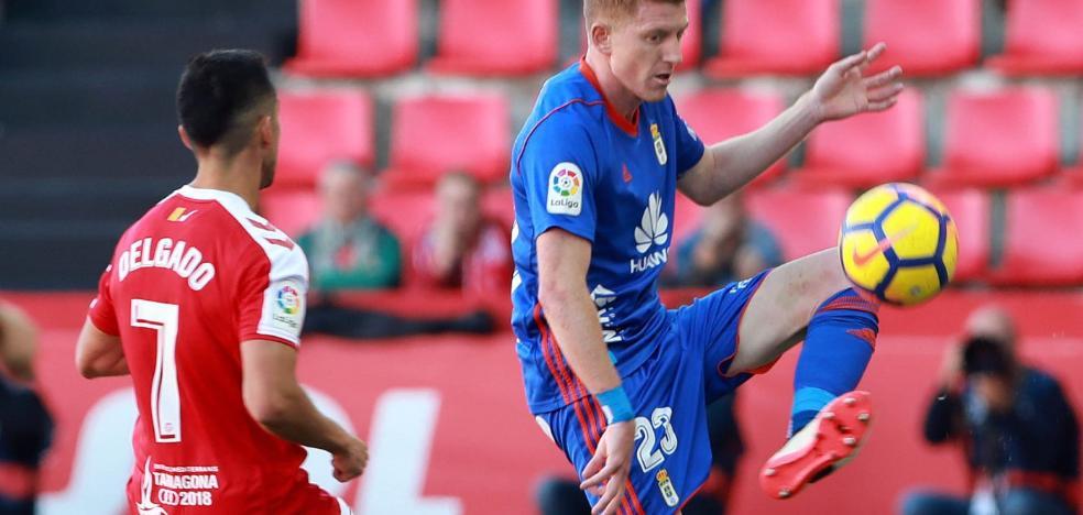 Real Oviedo | Mossa: «Esta victoria nos tiene que servir para reforzar la moral del grupo»
