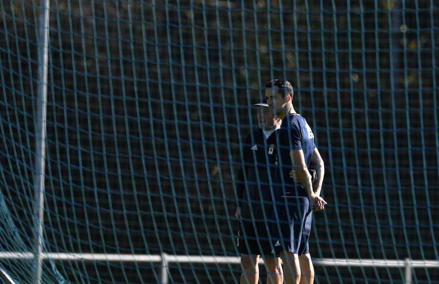 Entrenamiento del Real Oviedo (14-11-2017)