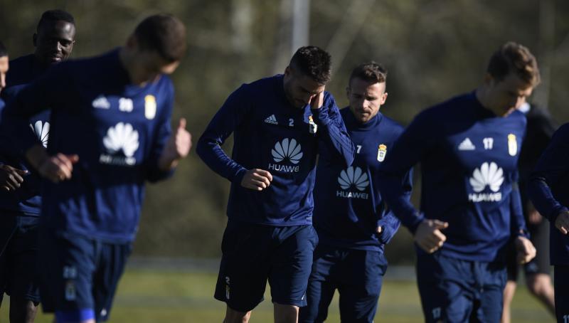 Entrenamiento del Real Oviedo (16/11)