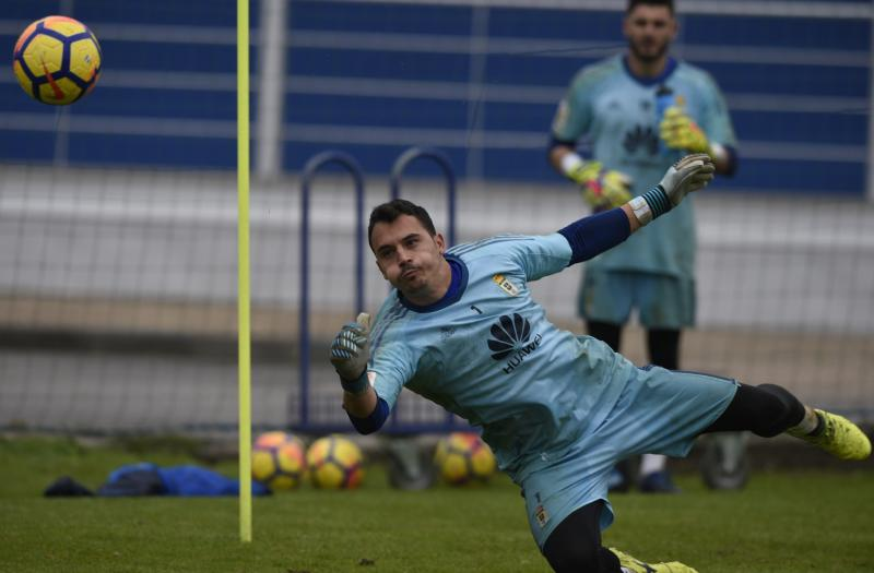 Entrenamiento del Real Oviedo (17/11)