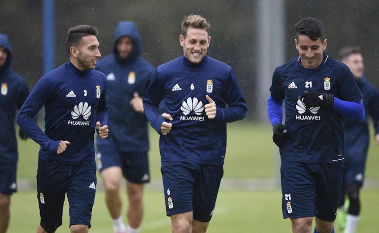 Entrenamiento del Real Oviedo (24/11/17)