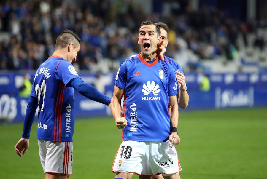 El Real Oviedo - Numancia (3-1), en imágenes