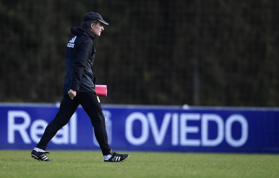 Entrenamiento del Real Oviedo (30-11-17)