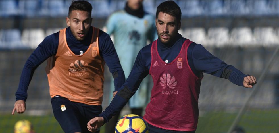 Real Oviedo | Anquela recoloca el esqueleto oviedista