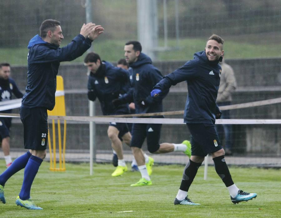 Entrenamiento del Real Oviedo (16-12-17)