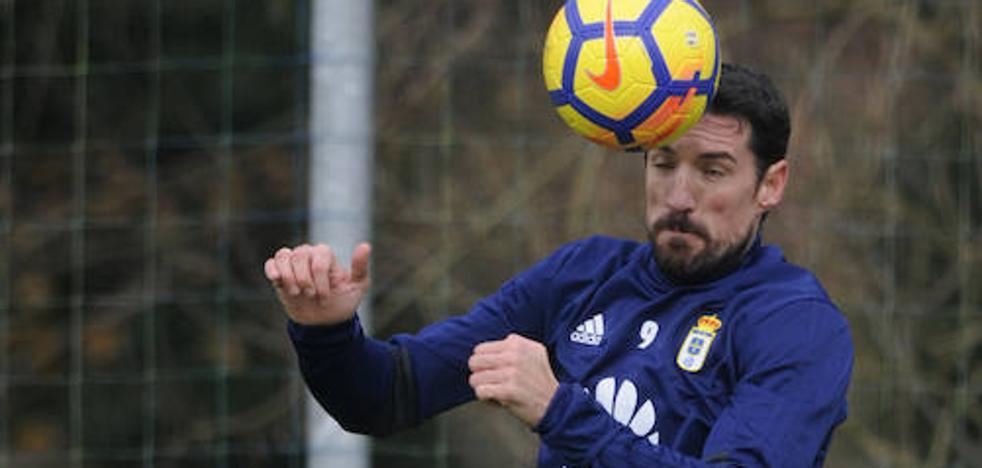Real Oviedo | Toché regresa al trabajo con el grupo
