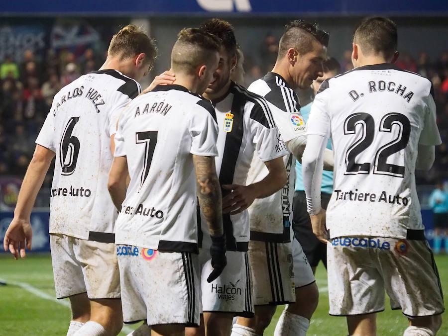 El Huesca 1-1 Real Oviedo, en imágenes