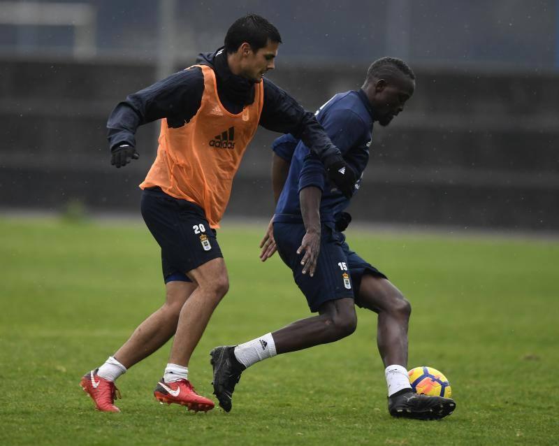 Entrenamiento del Real Oviedo (09/01/2018(