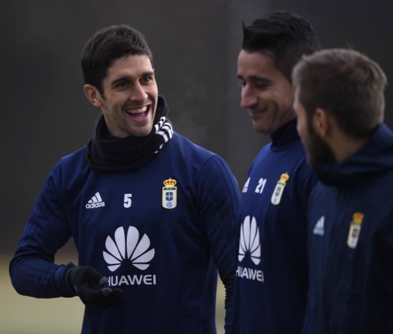Entrenamiento del Real Oviedo (10-01)