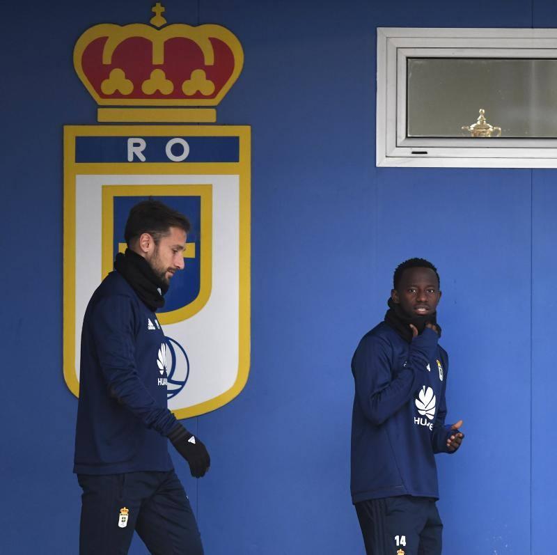 Entrenamiento del Real Oviedo (15-01)