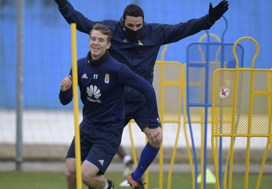 Entrenamiento del Real Oviedo (19-1-18)