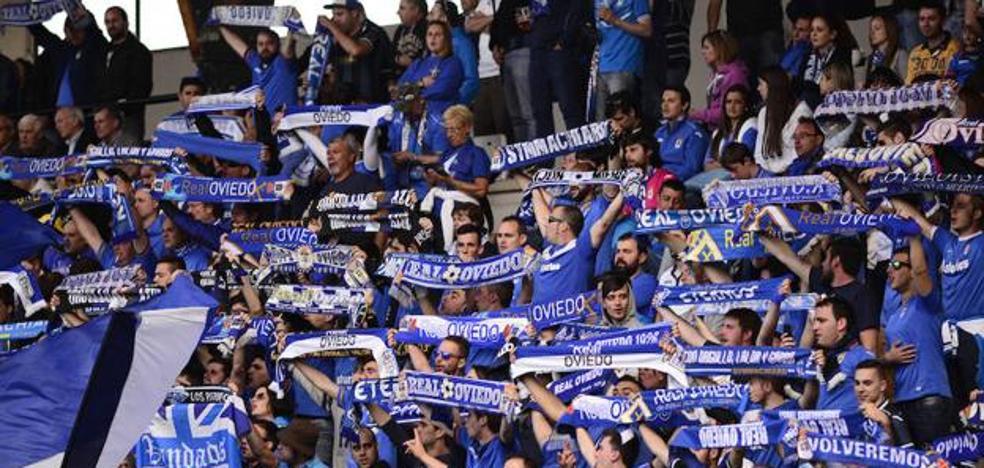 Los abonados del Real Oviedo accederán gratis al partido ante el Sporting