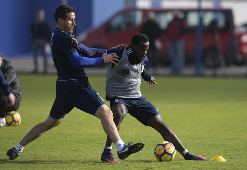 Entrenamiento del Real Oviedo (31/01/18)