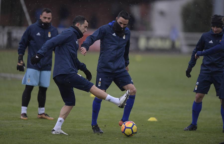 Entrenamiento del Real Oviedo (06-02-2018)