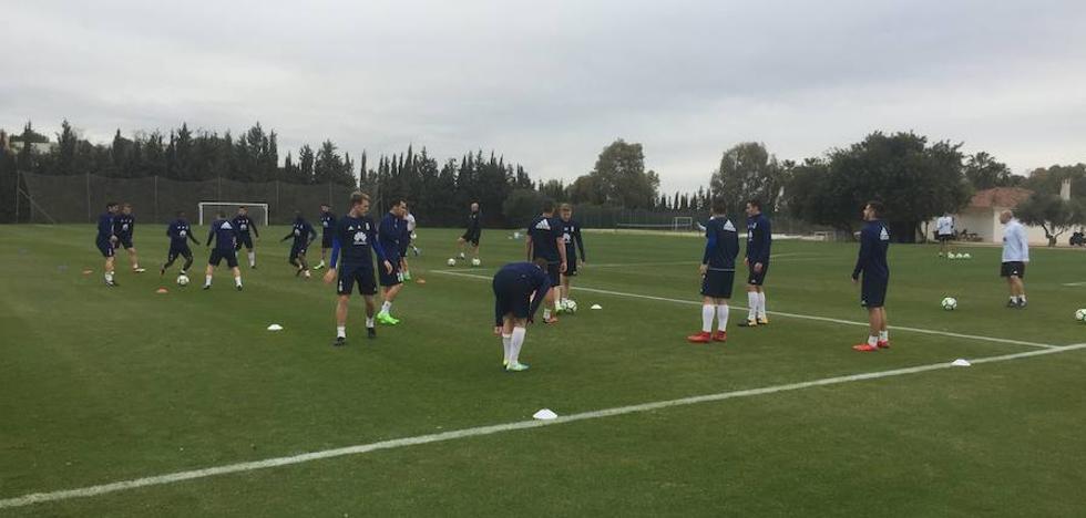 Real Oviedo | Anquela repetirá en Cádiz el once que ganó el derbi
