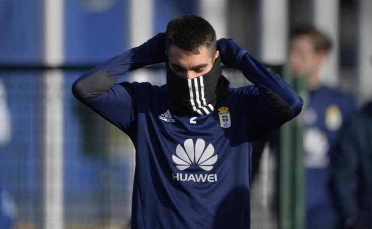 Entrenamiento Real Oviedo (12/02/2018)