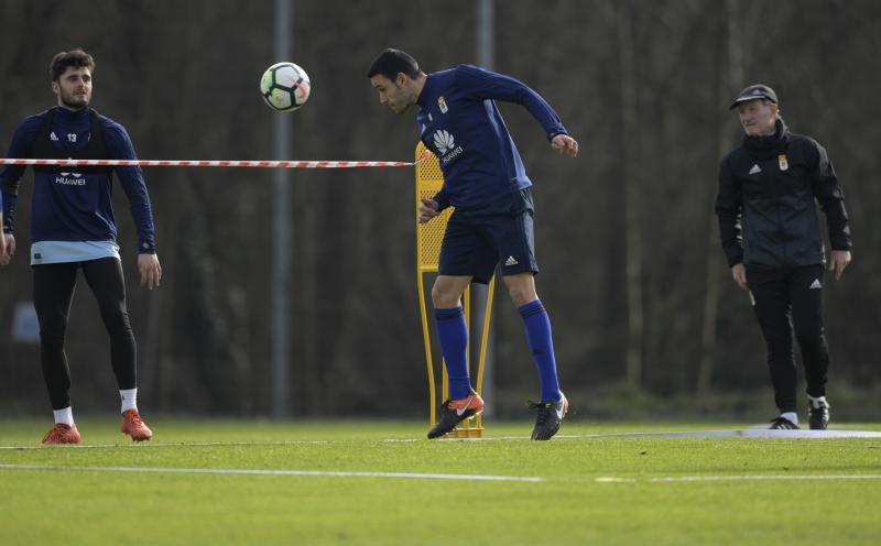 Entrenamiento del Real Oviedo (15/02)