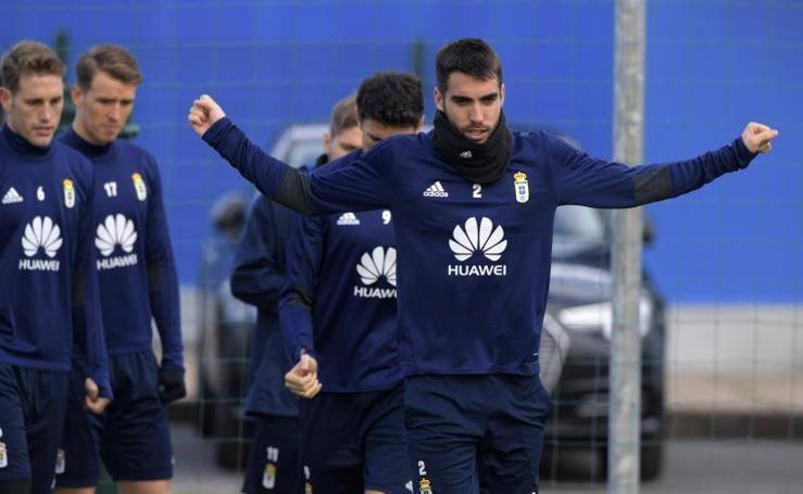 Entrenamiento del Real Oviedo (01/03/2018)