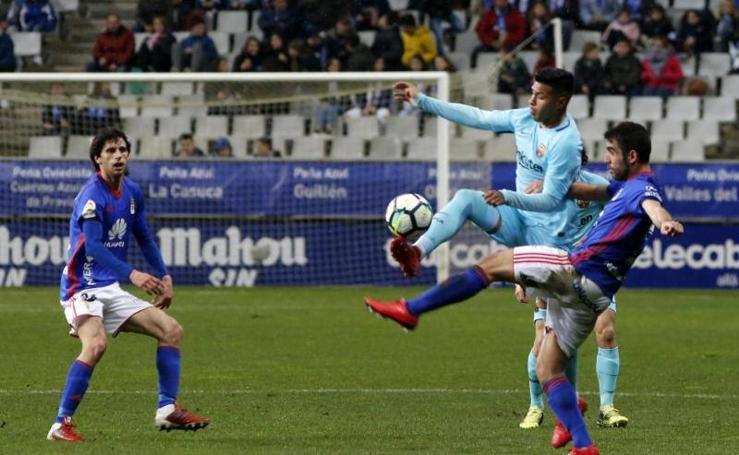 Real Oviedo 0-0 Barcelona B, en imágenes